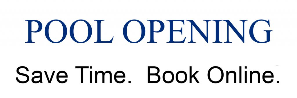 Pool Opening with Colony Pool Service of Delaware, Inc., Wilm., Delaware