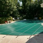 Safety Pool Cover - Pool Covered